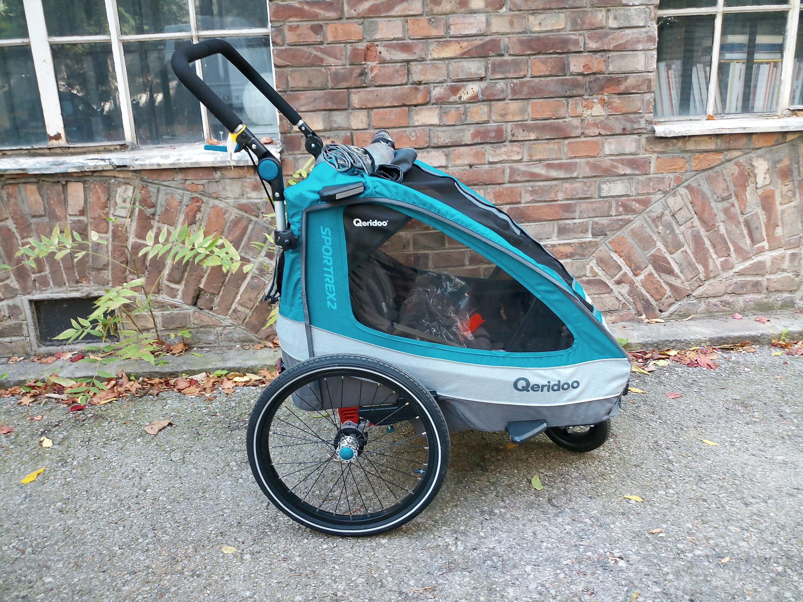 Qeridoo Kinderanhänger bei Heavy Pedals in Wien kaufen