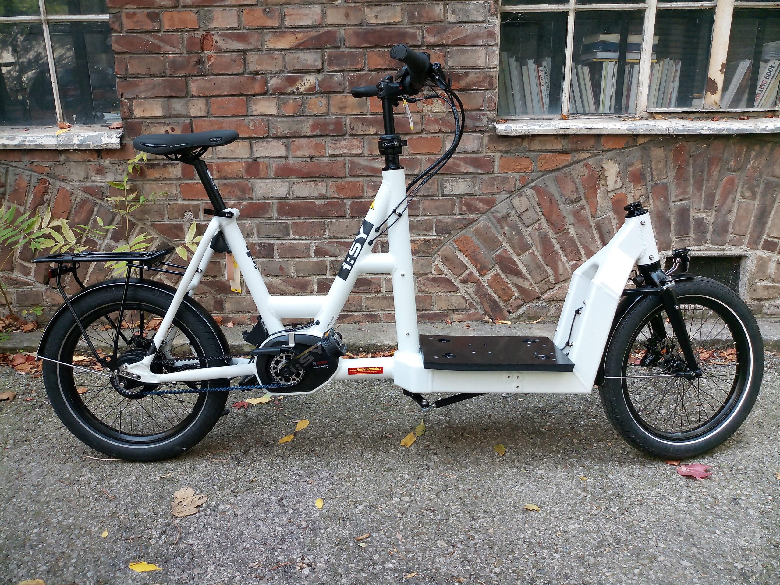I:SY DriveE Cargo bei Heavy Pedals in Wien kaufen