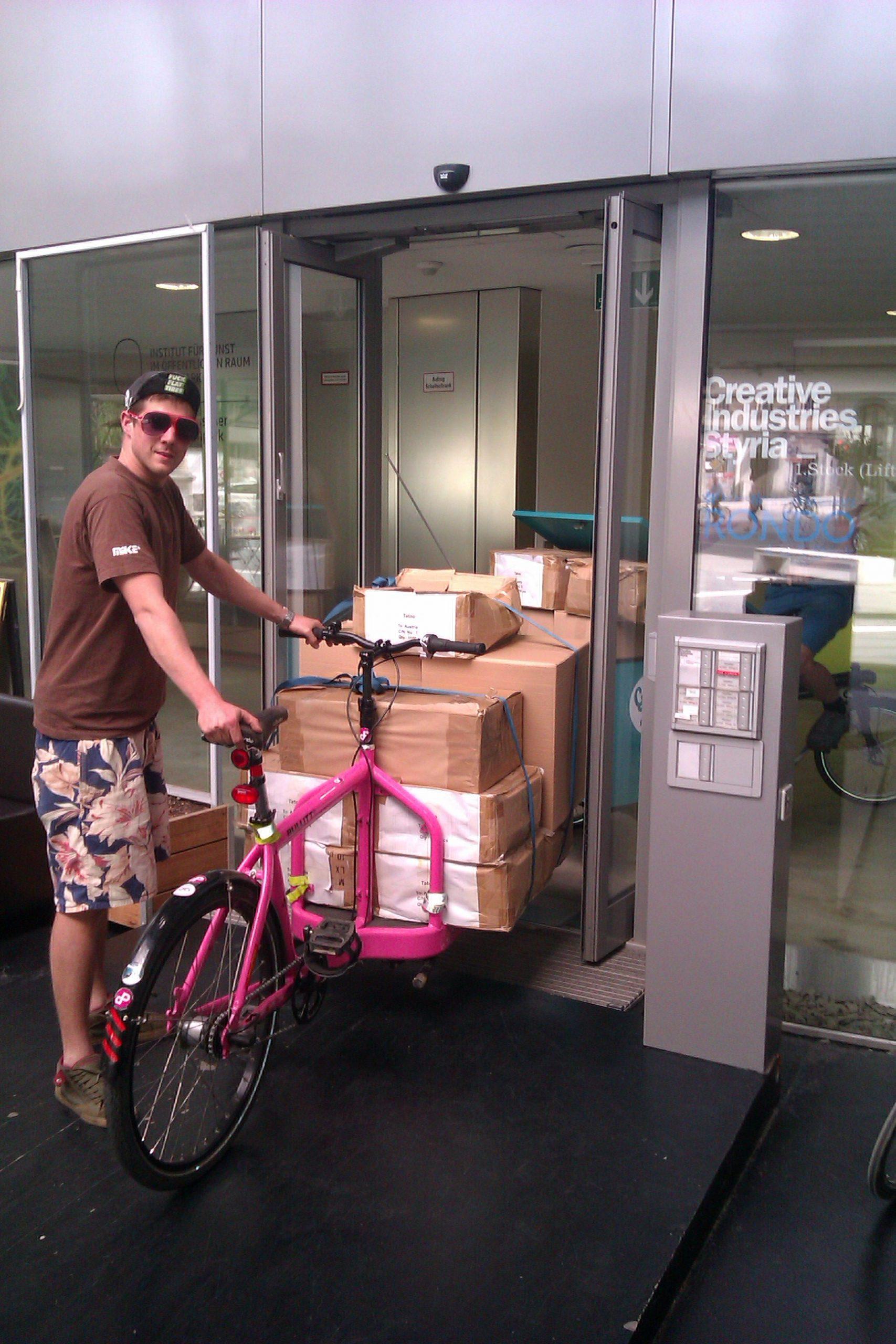 Pink Pedals Bullitt, Graz