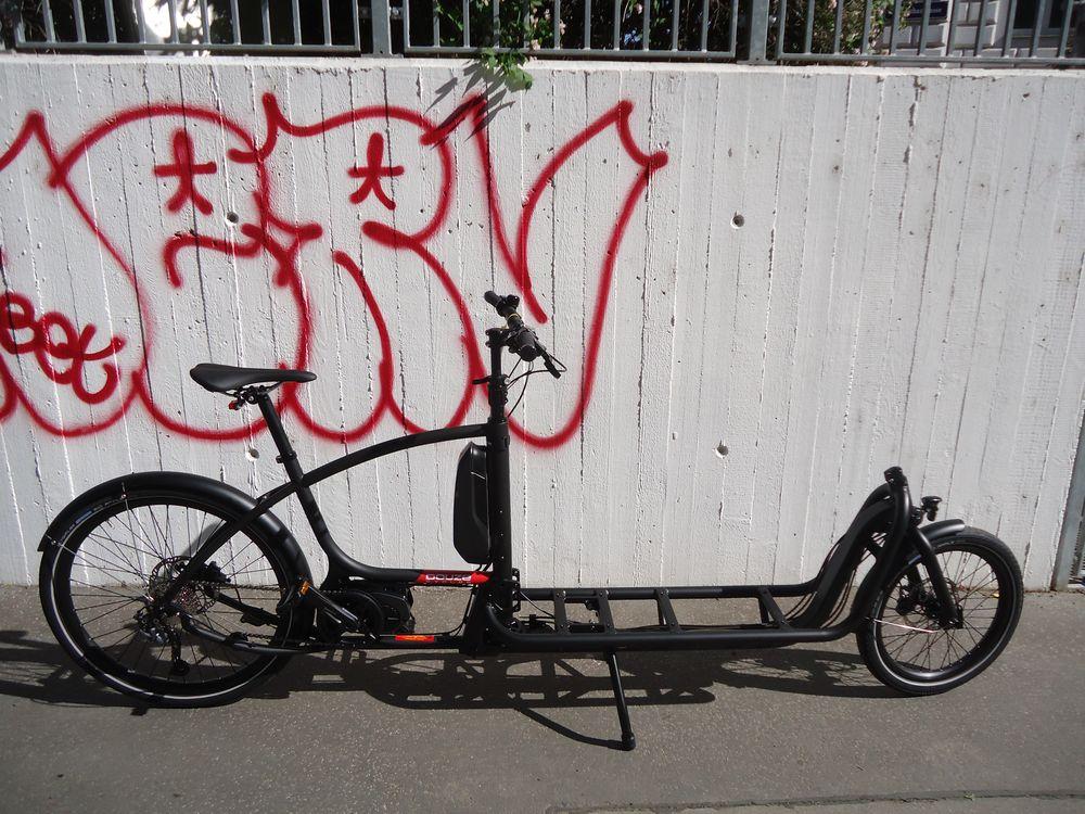 Douze Cycles V2, Messenger, 800, Schwarz, fabrikneu